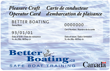 QUEBEC BOATING LICENSE, BOATING LICENCE QUEBEC